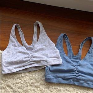 Hanes stretch cotton bras 2-pack
